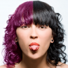 Changer la couleur des cheveux noirs photoshop | Photoshop Video ...